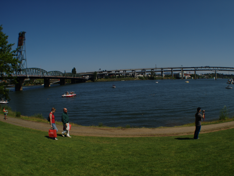 river view at Waterfront Park